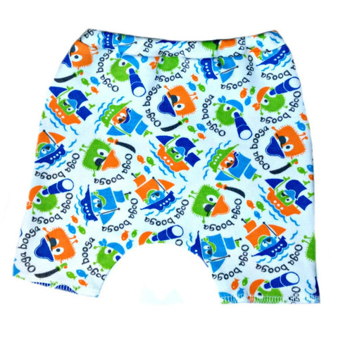 Baby Boys' Ooga Booga Pirate Shorts