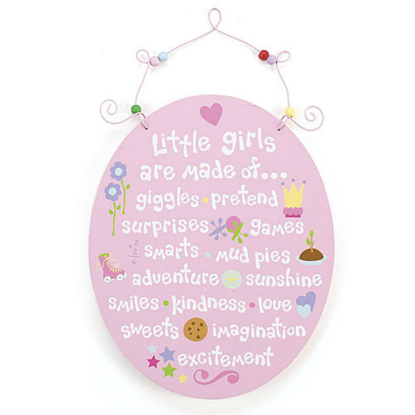 Baby Girls' Little Girls Wall Plaque