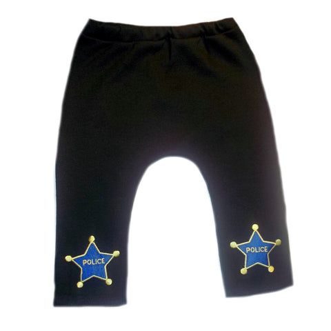 Baby Boys Navy Blue Police Office Pants