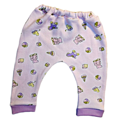 Baby Girls' Pink Toys Pants