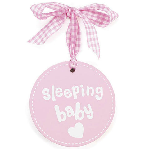 Baby Girls' Sleeping Plaque