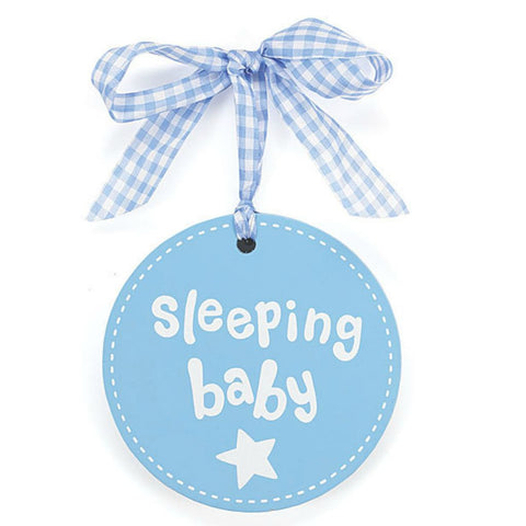 Baby Boys' Sleeping Plaque