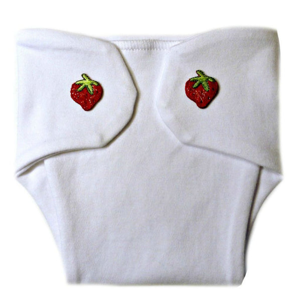 cc0552872 Baby Girls' Red Strawberry Diaper Cover
