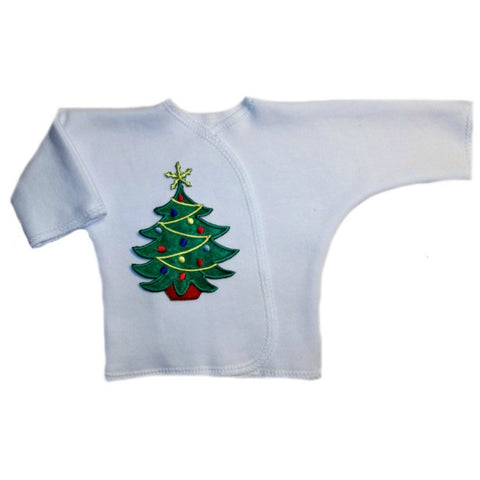 Preemie and Newborn Oh Christmas Tree Unisex Baby Long Sleeve Shirt