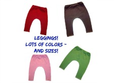 Baby Leggings for Preemie, Newborn and Toddlers