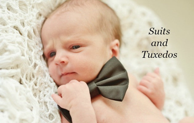 Newborn and Preemie Baby Boy Suits and Tuxedos