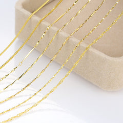 Thin Gold Chain