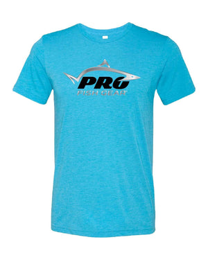 Pro Fish Gear Tri-Blend T-Shirt - Blue Shirts Pro Fish Gear