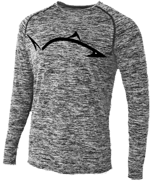 *NEW* Pro Fish Gear Space Dye Raglan Long Sleeve Shirt Shirts Line Cutterz