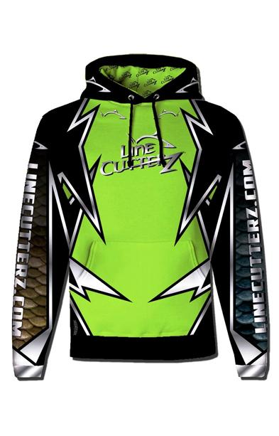 NEW RELEASE! - 2018 Line Cutterz Pro Fish Gear Tournament Hoodie