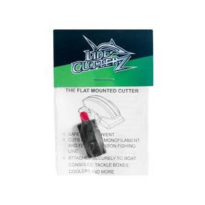 NEW RELEASE! - Line Cutterz Flat Mount Fishing Line Cutter - Black Flat Mount Line Cutterz