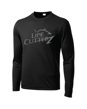 *NEW* Line Cutterz Spec Ops Stealth Black LS Shirt by Sport Tek Shirts Line Cutterz S