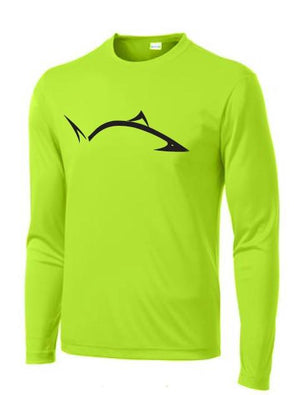 *AS SEEN ON SHARK TANK* Line Cutterz LS Carpe Diem Shirt in Green