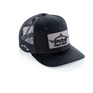 *NEW* Pro Fish Gear Spec Ops Black Snapback Hat Hats Line Cutterz