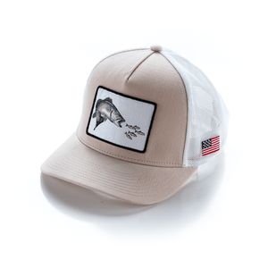 *NEW* Pro Fish Gear Khaki Speckled Trout Snapback