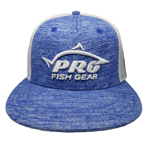 *NEW* Pro Fish Gear Ultra-Fit A-Flex Heather Blue Hat