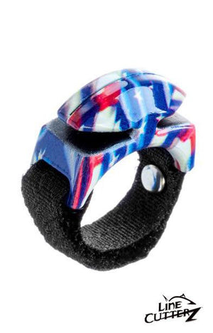 Limited Edition Line Cutterz HERO Ring - American Flag Pattern Cutter Ring Line Cutterz