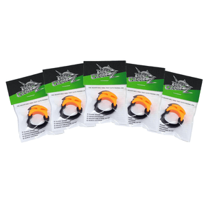 NEW! 5 PACK - BLAZE ORANGE Line Cutterz Rings