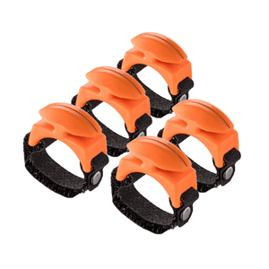 NEW! 5 PACK - BLAZE ORANGE Line Cutterz Rings Cutter Ring Line Cutterz