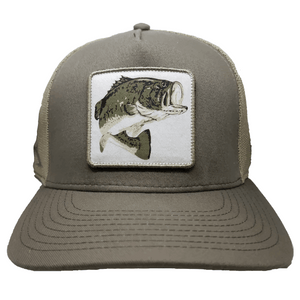 *NEW* Pro Fish Gear Taupe Large Mouth Bass Snapback