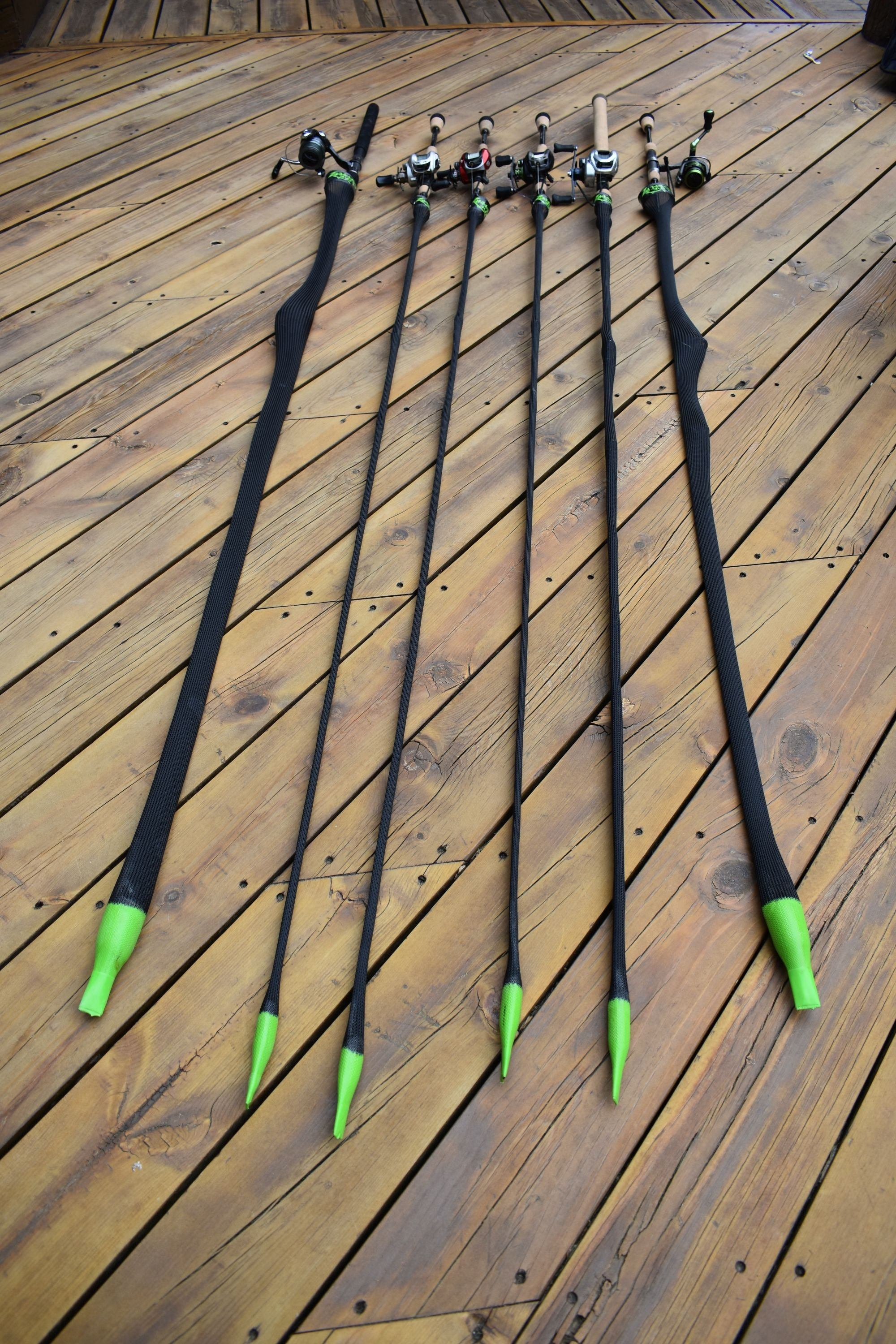Mad Duck Ice Fishing Rod - Line Cutterz Edition