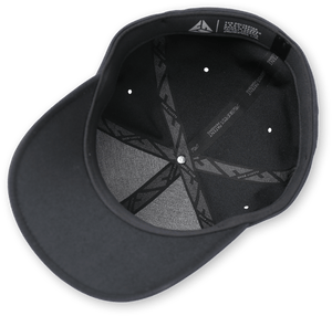 *NEW* Flexfit Black Delta Hat with LC Pro Fish Logo