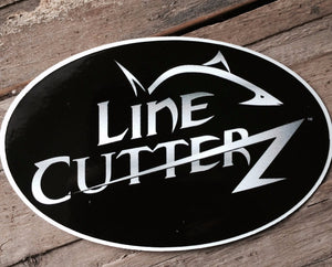 Line Cutterz Sticker