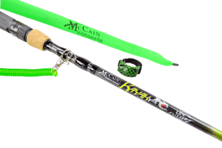 McCain Hi-Performance Graphite Line Cutterz Edition Pro Kayak Series Rod