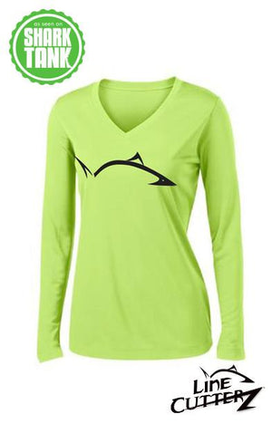 *AS SEEN ON SHARK TANK* Line Cutterz LS WOMEN'S Carpe Diem V-Neck