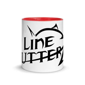 Mug with Color Inside Line Cutterz Black