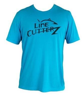 Line Cutterz Triblend Tee in Blue