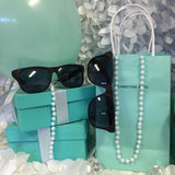 50 Customized Bag, Pearl, And Sunglasses Set
