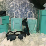 20 Customized Bag, Pearl, And Sunglasses Set