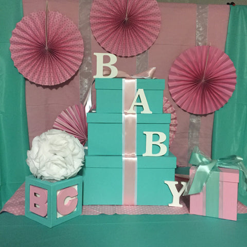 Baby & Co Girl Centerpiece Set