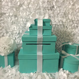 Multi-Tier Card Box With Ribbon