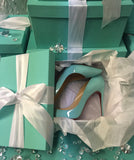 Set of 3 Gift/Shoe Box With Ribbon