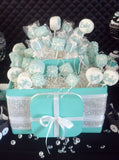Large Cake Pop Box With Bling