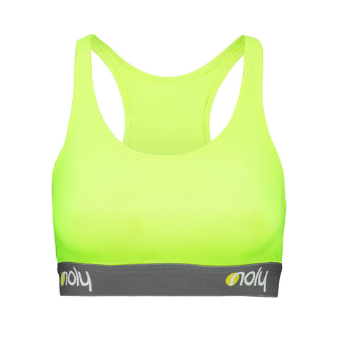 Low Cut Sports Bra Neon