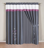 2 Pcs Curtain Set # 70161