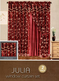 Julia 2 Pieces Window Treatment