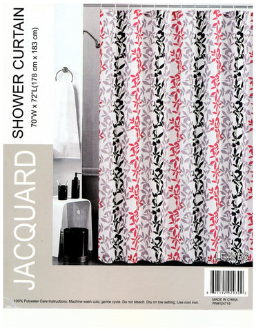 Jacquard Shower Curtain.