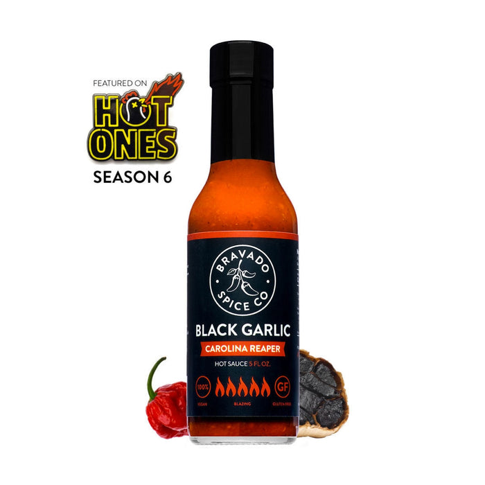 Bravado Black Garlic Carolina Reaper Sauce