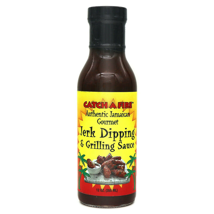 Catch A Fire Jerk Dipping and Grilling Sauce