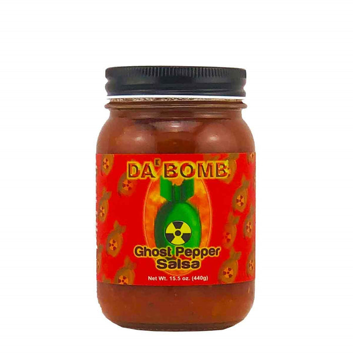 Spicin Foods Da' Bomb Ghost Pepper Salsa
