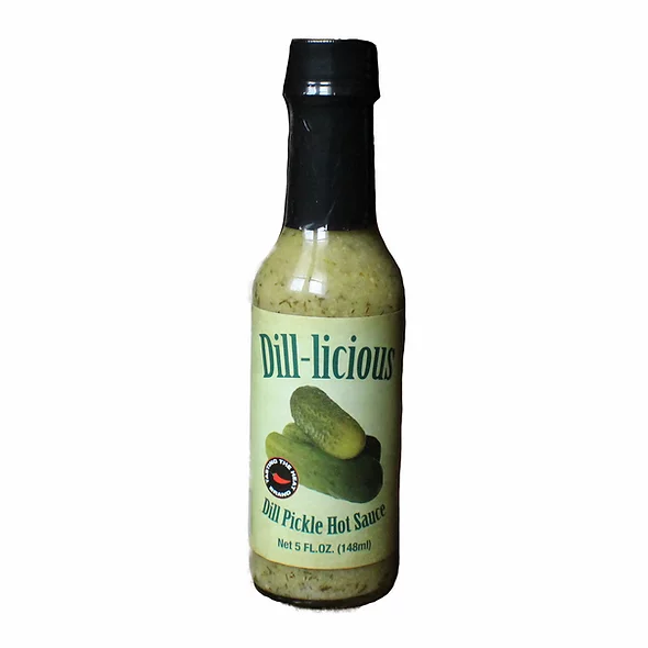Dill-licious Dill Pickle Hot Sauce