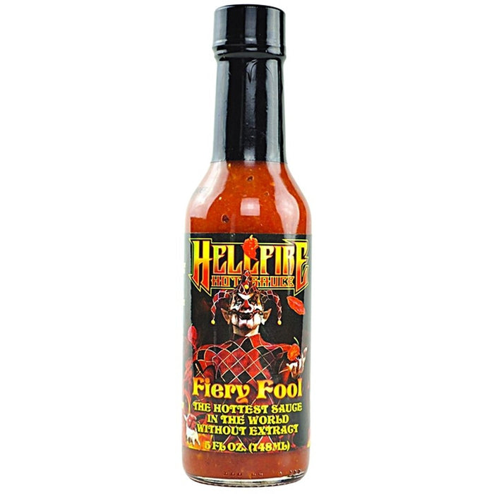 Fiery Fool Hot Sauce