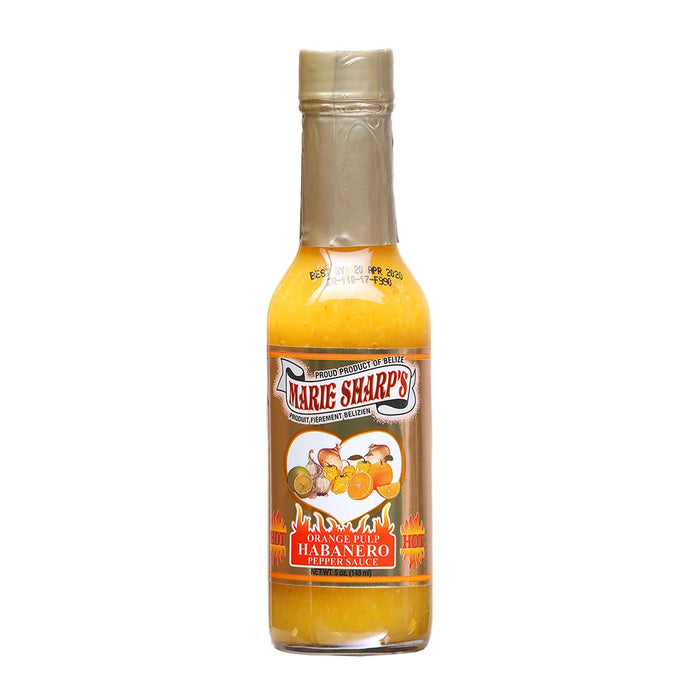 Marie Sharp's Orange Pulp Hot Sauce