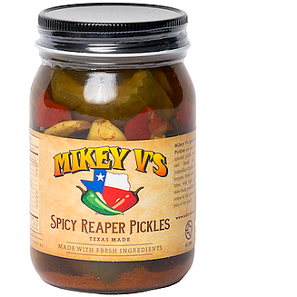 Spicy Reaper Pickles