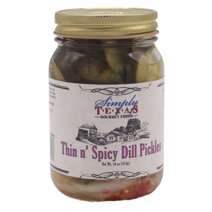 Thin n' Spicy Dill Pickles