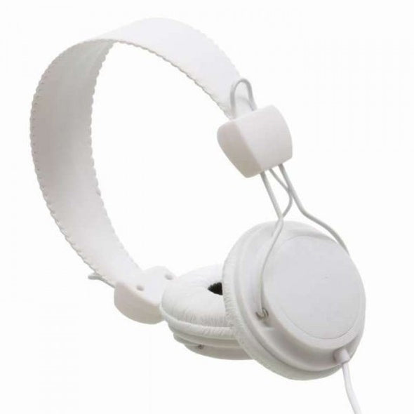 WESC Conga On Ear Headphones with Volume Control - White